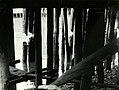 Bryggepæler i Nidelva ved lavvann (1967) (4594225923).jpg