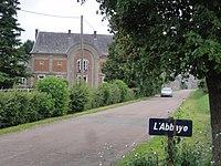 Bucilly (Aisne) lieu-dit l'abbaye.JPG
