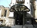 Bucuresti, Romania, Palatul Cantacuzino pe Calea Victoriei nr. 141, sect. 1, (parte laterala)(detaliu).JPG