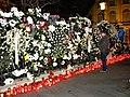 Bucuresti, Romania. Candele si flori pentru Regele Mihai I. Ultimul nostru Rege. 14 Decembrie 2017. (4).jpg