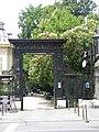 Bucuresti, Romania. Casa Oamenilor de Stiinta. (CASA ASSAN). Poarta de intrare. (B-II-m-B-19009).jpg
