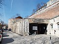 Budapest. I. Lovas út 4.- Hospital in the Rock and Castle Walls. Sour Soup tower.JPG