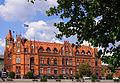 Budynek Poczty Glownej w Bydgoszczy znajdujacy sie na polnocnym brzegu Brdy w centrum miasta 06.JPG