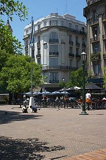 square in Buenos Aires, Argentina