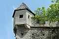 Burg Hochosterwitz Wehrturm an der Kirche hl Johann Nepomuk 01062015 1169.jpg