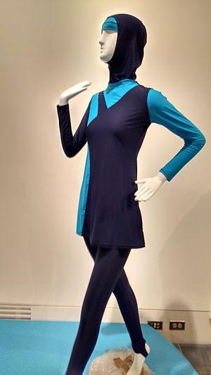 Burkini - Image: Burkini modesty swimsuit PROP 178 MG 2016 01