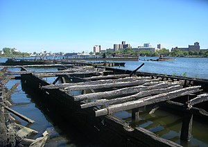 Ship graveyard - Gravesend Bay, Brooklyn