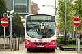 Bus and bus lane, Belfast - geograph.org.uk - 1518888.jpg