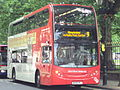 Bus on Colmore Row, Birmingham - DSC08813.JPG