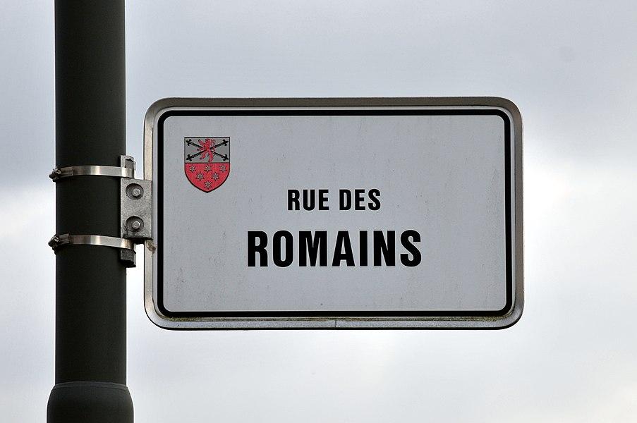 Rue des Romains zu Bus.