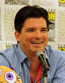 Hartman at the 2009 San Diego Comic Con
