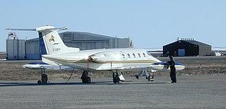 Adlair Aviation - Adlair's Learjet 25B