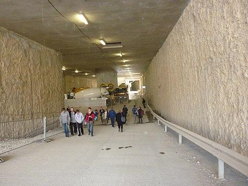 Portes ouvertes des 26 et 27 septembre 2015 sur les lieux des travaux du CEVA au lieu-dit Gare des Eaux-Vives.