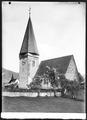 CH-NB - Saanen, reformierte Kirche, vue d'ensemble extérieure - Collection Max van Berchem - EAD-6696.tif