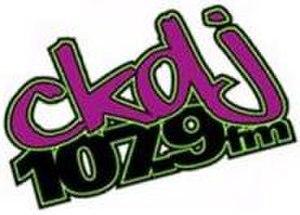 CKDJ-FM - Image: CKDJ1079Logo