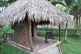 Cabana (structure) - A cabana in Ayampe, Manabí Province, Ecuador.