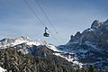 Cable car Piz Sella and the Sella group.jpg