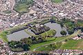 Caerphilly Castle from the air.jpg