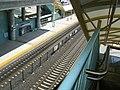 Caltrain tracks at Millbrae station, May 2009.jpg