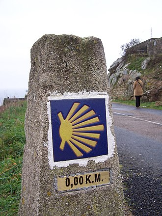 Cape Finisterre - Image: Camiño de Santiago, Fisterra