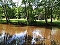 Camowen River, change of colour - geograph.org.uk - 916026.jpg