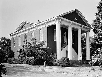 Campbell County, Georgia - Courthouse in 1980
