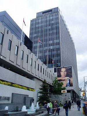Canada Square Complex - A portion of the Canada Square complex