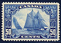 Canada bluenose 1928 issue-50c.jpg