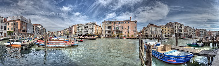 Panorama of the Grand Canal