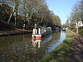 Canal boat at Audlem - geograph.org.uk - 1766056.jpg