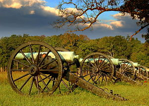 Chickamauga and Chattanooga National Military Park - Cannon Row