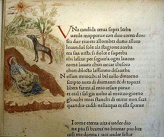 <i>Il Canzoniere</i> Poetry anthology by Petrarch