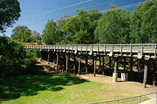 Capel River river in Western Australia, Australia