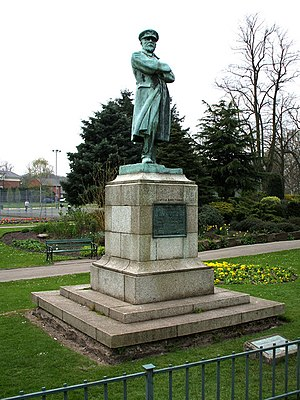Captain Edward Smith statue, Beacon Park, Lich...