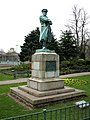 Captain Edward Smith statue, Beacon Park, Lichfield - geograph.org.uk - 403721.jpg