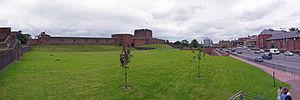 Carlisle Castle - Image: Carlisle Castle Panorama