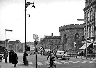 Carlisle - 1950s Botchergate in Carlisle