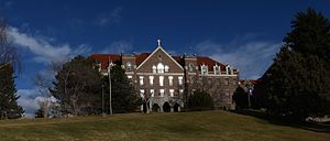 Carroll College (Montana) - Saint Charles Hall, Carroll College Campus