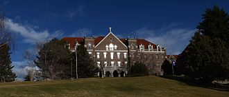 Carroll College (Montana) - Saint Charles Hall, Carroll College Campus