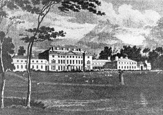 Carton House - Carton House in 1824