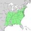 Carya tomentosa range map 1.png