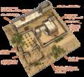 Casă Feniciană Canaanită fortificată 07 transparent.png