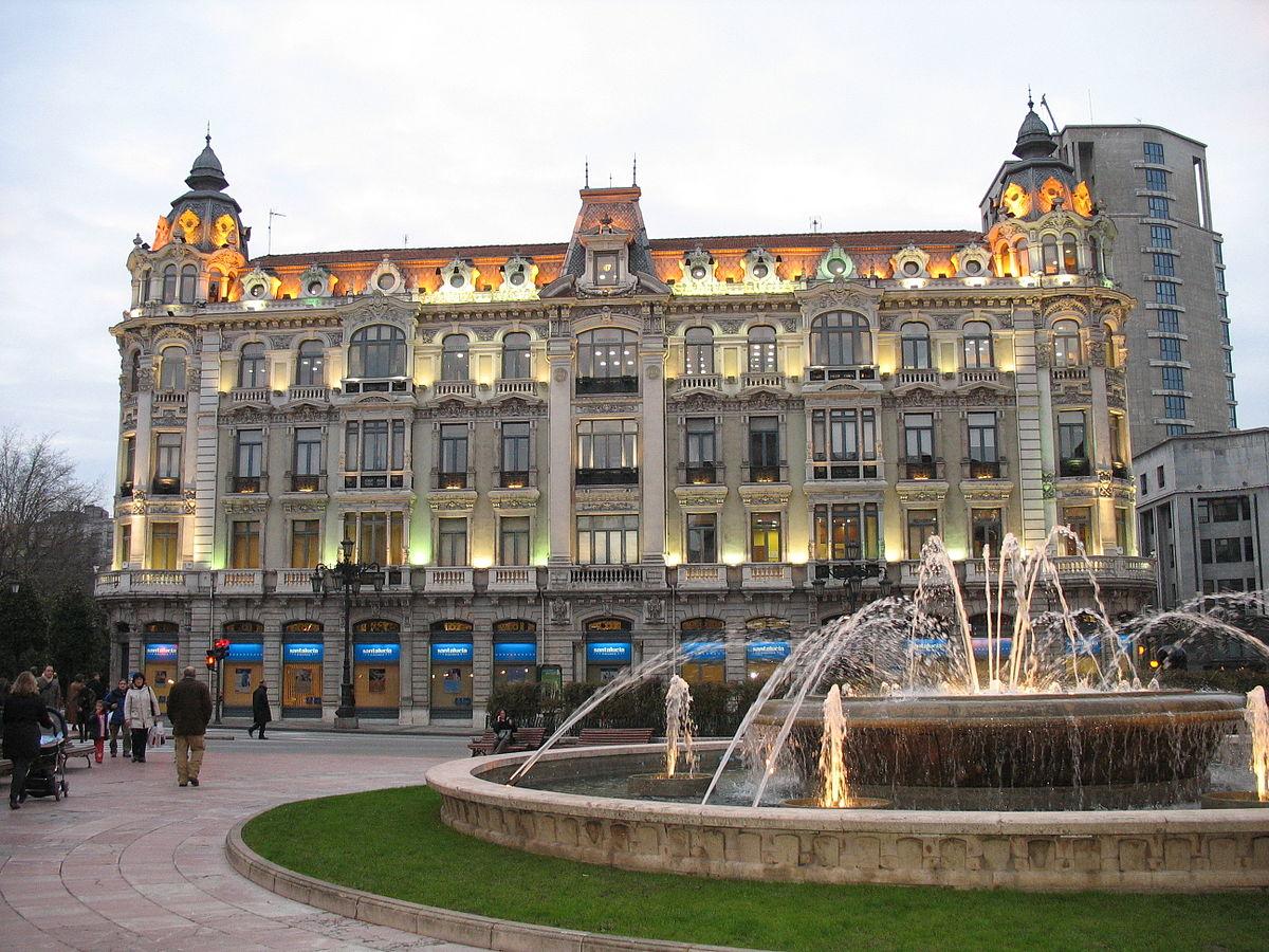Plaza de la escandalera wikipedia la enciclopedia libre - Casa de asturias madrid ...