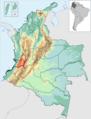 Castellano Vallecaucano en el mapa de colombia.png