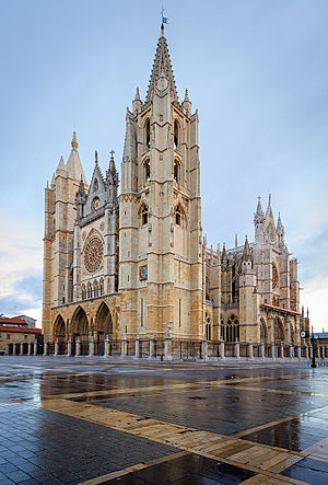 León Cathedral - Image: Catedral Gótica de León