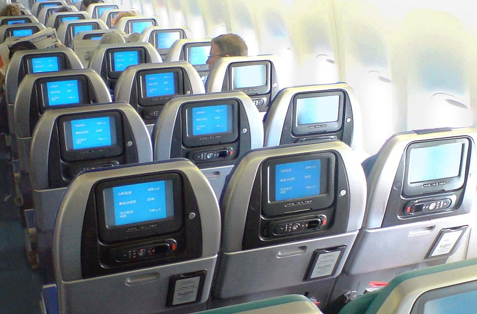 Cathay Pacific Economy clamshells