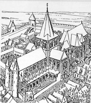 Basilica of Notre-Dame de Boulogne - Image: Cathedrale Boulogne Enlart