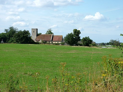 Cavenham church and houses - geograph.org.uk - 2002584