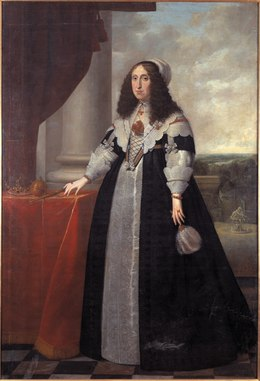 Cecilia Renata, 1611–1644, Archduchess of Austria queen of Poland - Nationalmuseum - 14968.tif