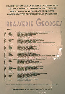 Brasserie Georges — Wikipédia
